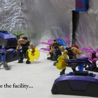Image of: Inside the facility...