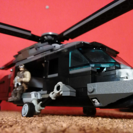 "black hawk helicopter moc ""after the storm"""