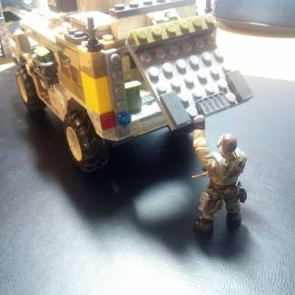 "Custom V1 ""Shadow Company"" Humvee"