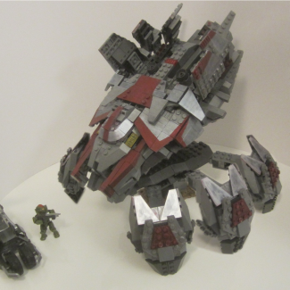 Custom Halo wars 2 Blisterback