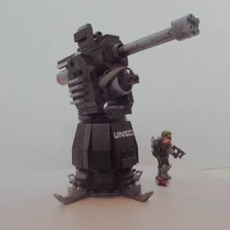 UNSC M-71 Scythe Anti-Aircraft Gun: Video