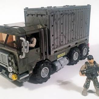 Shipping Container Truck Mod