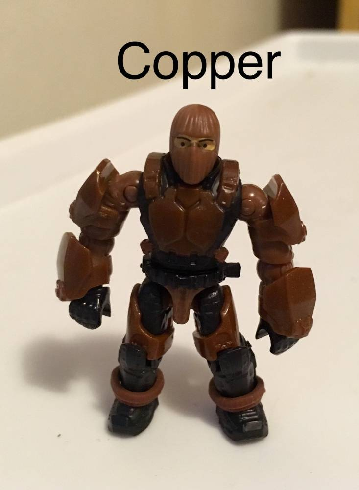 Image of: Copper