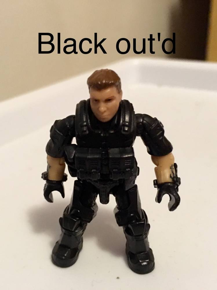 Image of: Blak out'd