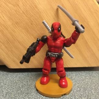 Image of: Deadpool marvel mega bloks