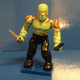 Image of: Drax the destroyer marvel mega bloks