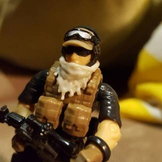 Image of: Delta force operator