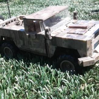 call of duty army issue chevy 4x4 truck