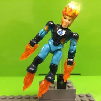 Image of: Human Torch marvel mega bloks