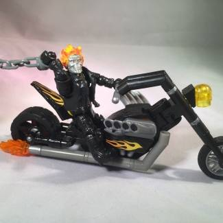 Image of: Ghost Rider marvel mega bloks