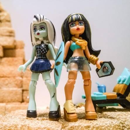 Monster high just another  day.