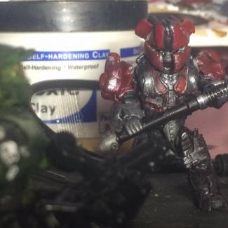 Image of: First Brute Warlord Custom figure