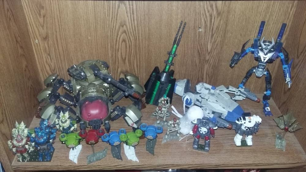 Image of: my full collection of destiny mega construx