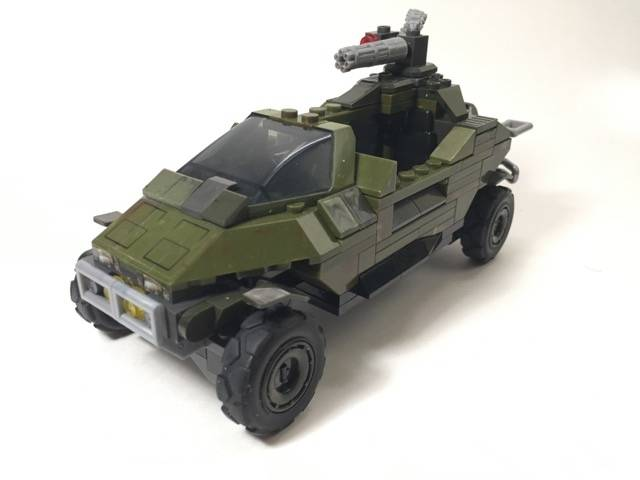 Image of: UNSC Fast Strike Warthog (based on Hunt Dougherty concept)