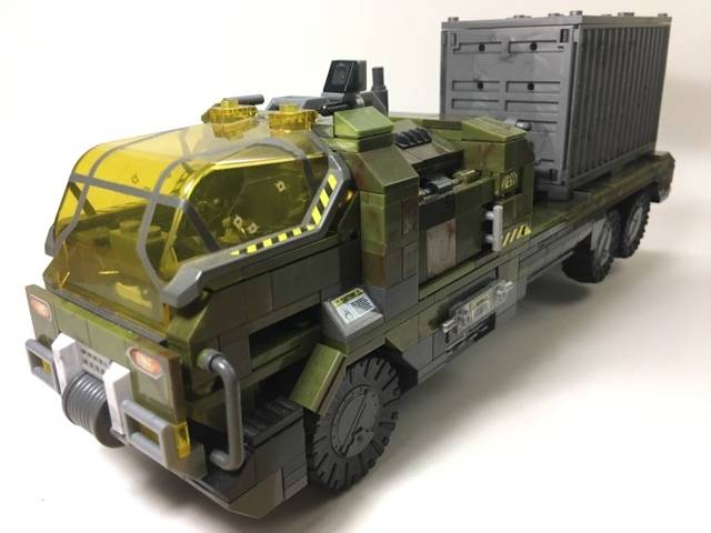 UNSC Heavy Duty Flatbed Truck (v 2.0)