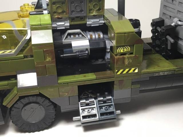 Image of: UNSC Heavy Duty Flatbed Truck (v 2.0)