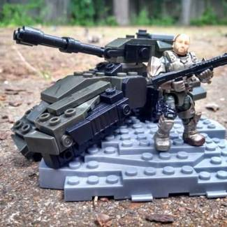 Micro Fleet UNSC Grizzly