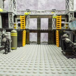 Image of: UNSC Firebase Interior