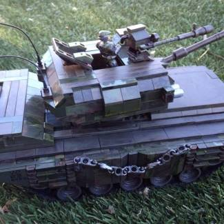 custom call of duty army tank , my first ever  tank attempt