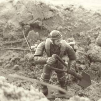 Huge trench diorama part 3