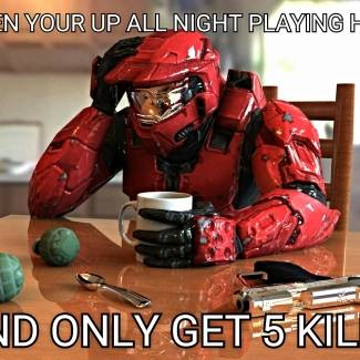 Image of: Custom halo meme