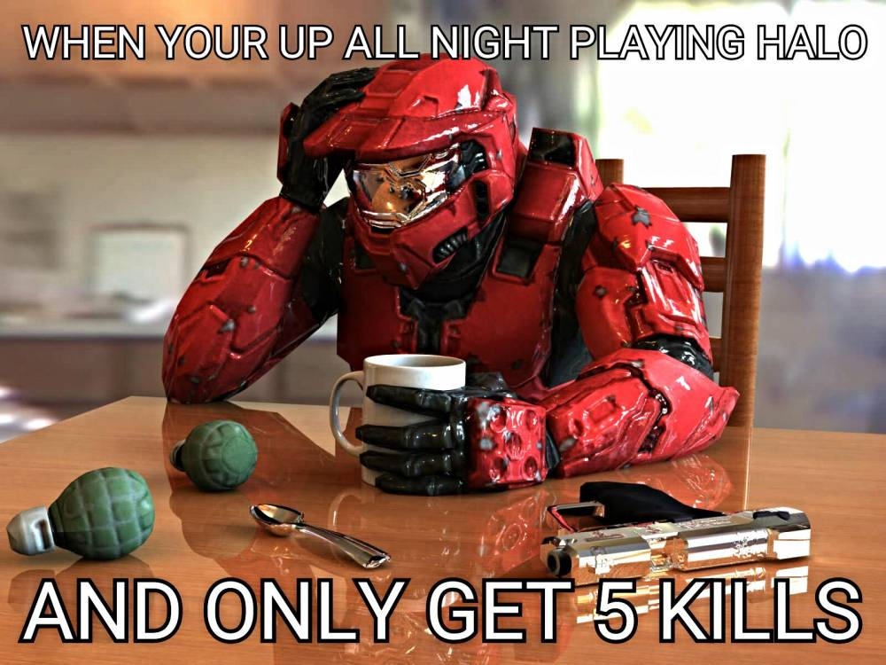 Custom halo meme