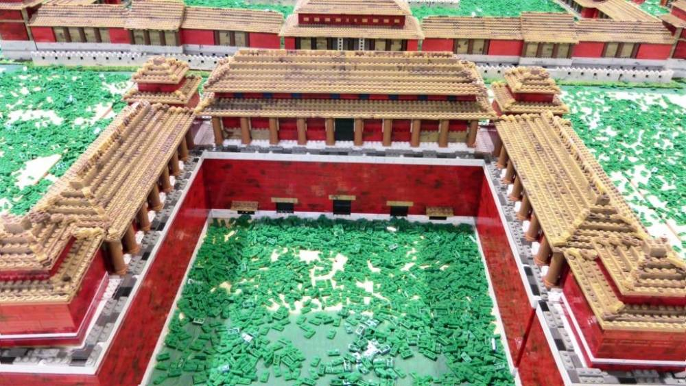 Image of: Entire Forbidden City China