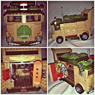 The TMNT Party Wagon