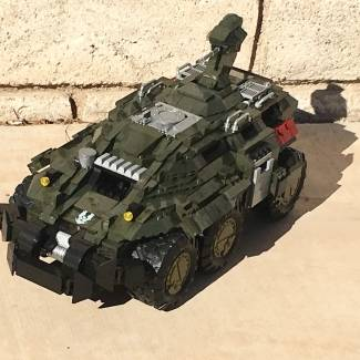 Image of: Custom Halo Wars 2 M650 Mastodon
