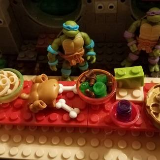 Thanksgiving with the TMNT