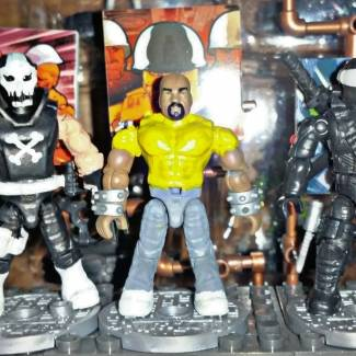 Crossbones, Luke Cage & Snake Eyes Customs