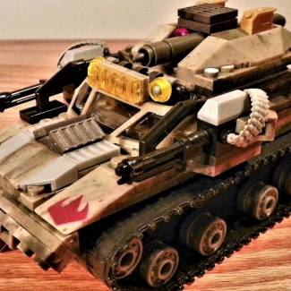Image of: Ripsaw Tank