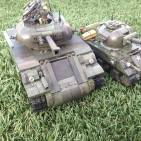 Larger scale ww2 Sherman tank