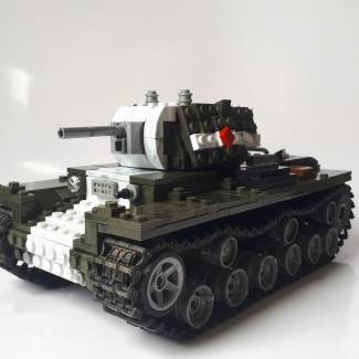 Image of: Kv-1 model 1940 short barrel variant