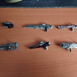 Image of: prometheans weapons more details