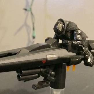 Image of: Crow's hover bike/sparrow