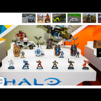 Image of: NEW HALO TOYFAIR SETS!
