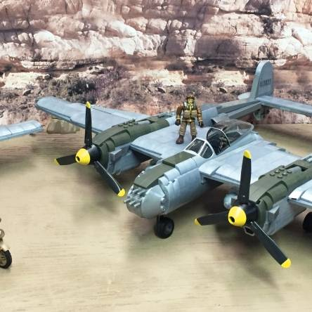 Lockheed P-38 Lightning Custom Build
