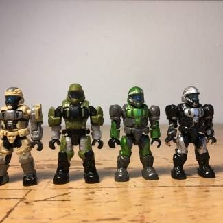 My Small Collection Of ODST's