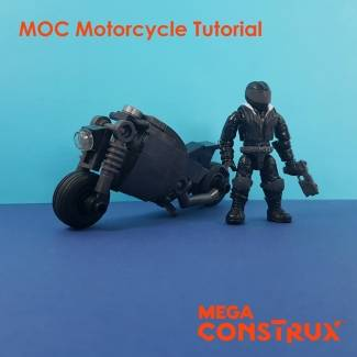 Image of: MOC Motorcycle Tutorial