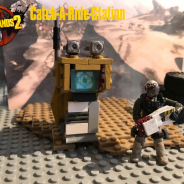 Borderlands 2 CATCH-A-RIDE Station!!