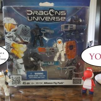 Dragons Universe Alliance Troop Pack 1 overview.