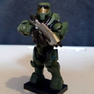 Image of: Master Chief combat evolved