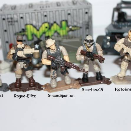 The Lost Patrol Characters