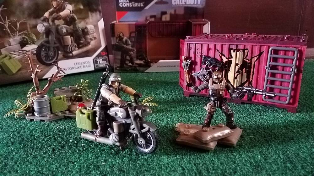 Mega Construx Call Of Duty Solo Mercenary Outpost Building Set NEW IN STOCK