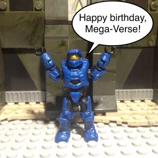 Happy Birthday, Mega-Verse!