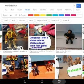 My Google results! TheRealBoo101