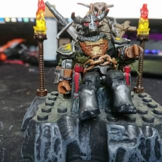 Image of: Origanal character (barbarian LORD& throne)