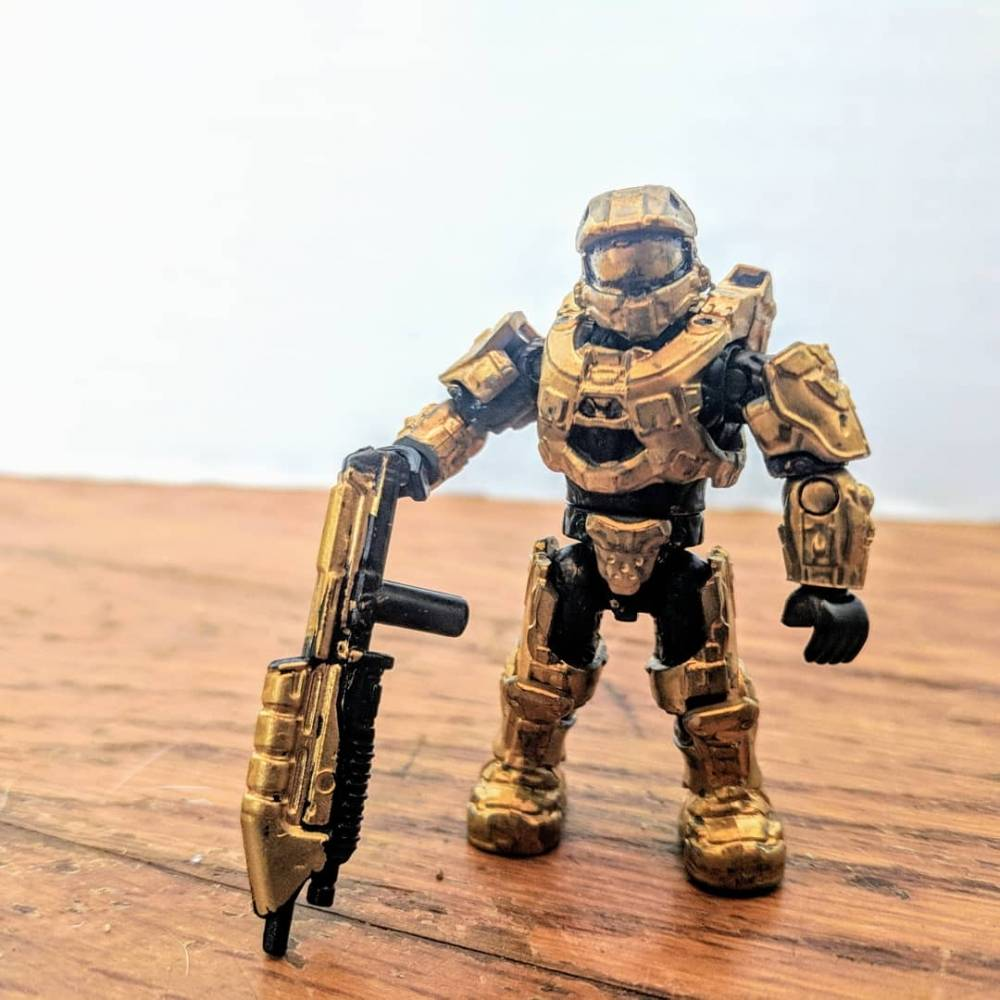 Image of: Golden Spartan VI for Z19's contest