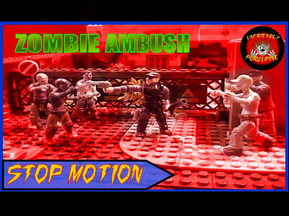 Image of: Call of duty Zombie Ambush Stop Motion Unfriendly Porcupine